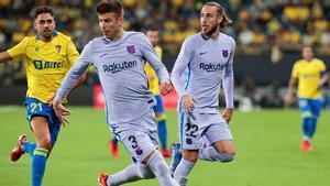 El 1x1 del la primera parte del Barça ante el Cádiz