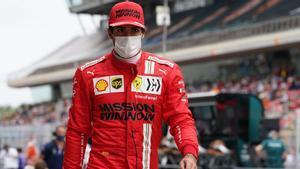 Carlos Sainz, tras el Gran Premio de España