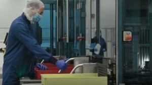 Imágenes de las instalaciones de Pfizer en Michigan