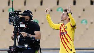 Messi  habló tras la final de Copa