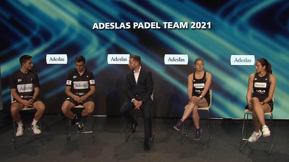 El Adeslas Padel Team, al asalto del número 1 mundial