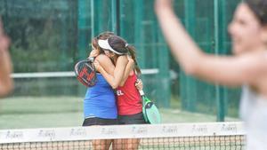 Abrazo de las campeonas