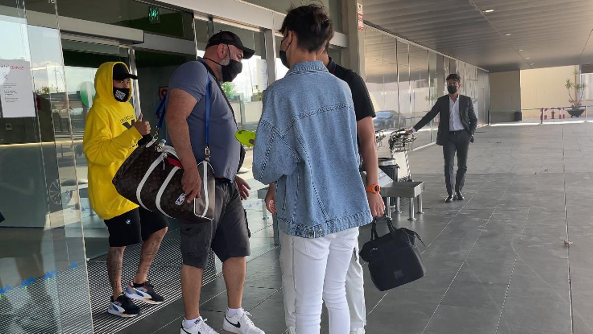 ¡Neymar también está en Barcelona!