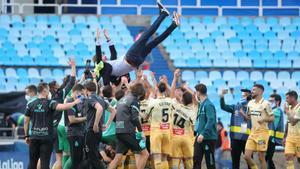 El Espanyol logra el ascenso a Primera tras empatar a nada con el Zaragoza