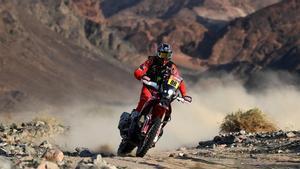 Barreda ha abandonado el Dakar en la penúltima etapa después de un error en el repostaje