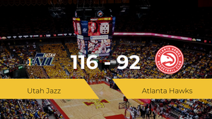 Utah Jazz consigue vencer a Atlanta Hawks (116-92)