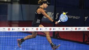 Marta Marrero realizó un buen partido de cuartos