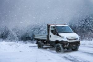 Iveco Daily 4×4, máxima capacidad de tracción para profesionales