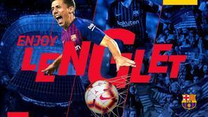 Lenglet ya es nuevo jugador blaugrana y este viernes será presentado