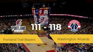 Washington Wizards derrota a Portland Trail Blazers (111-118)