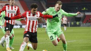 El gol de Donyell Malen al Omonia