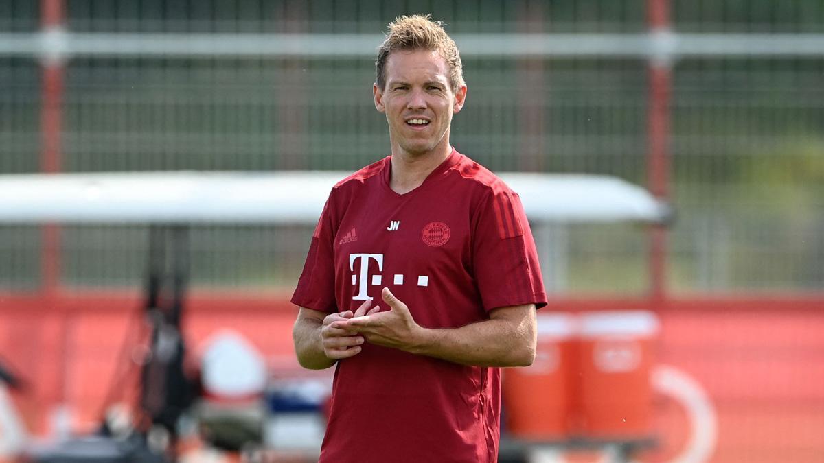 Julian Nagelsmann, entrenador del Bayern Múnich