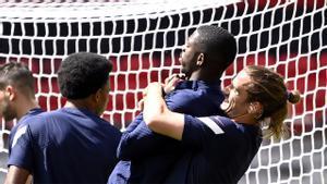 Dembélé, adiós a la Eurocopa