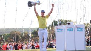 Rafa Cabrera Bello se proclamó campeón del Open de España en un emocionante final