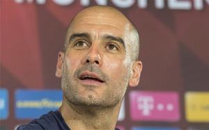 Guardiola explicó en rueda de prensa los motivos de su adiós del Bayern