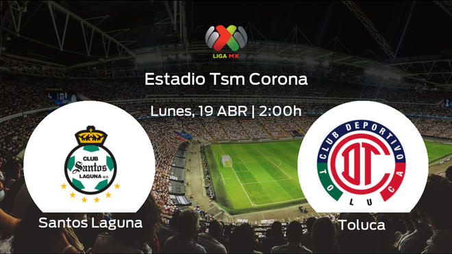Jornada 15 de la Liga MX de Clausura: previa del duelo Santos Laguna - Toluca