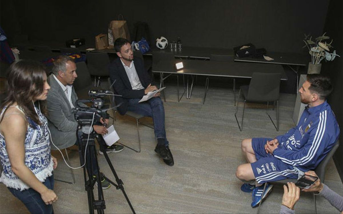 La entrevista completa a Leo Messi