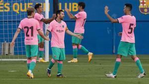 El Barça derrotó al Girona liderado por un gran Messi