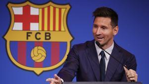 Leo Messi: Estoy agradecido con la carrera que tuve en el Barça