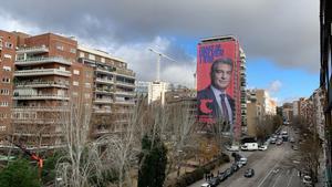 Bertín Osborne se pronuncia sobre el cartel de Joan Laporta en el Bernabéu