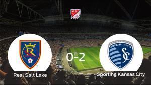 El Sporting Kansas City suma tres puntos a su casillero ante el Real Salt Lake (0-2)