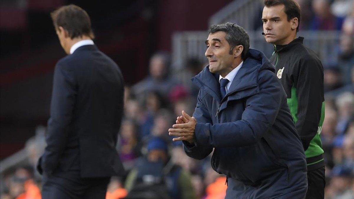 Valverde, en el clásico