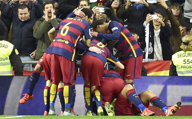 El Barça dio un recital en el Bernabéu