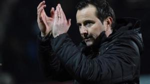 Julien Stephan, en el estadio Raymond-Kopa, del Angers