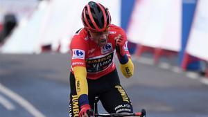 Roglic, ganador de la Vuelta 2020.