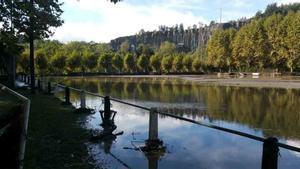 El campo del Borgonyà, inundado