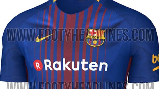 La nueva camiseta del Barça para la temporada 2017/18 diseñada por Nike