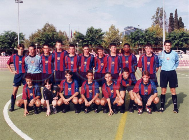 17. Gerard Piqué 2001-02