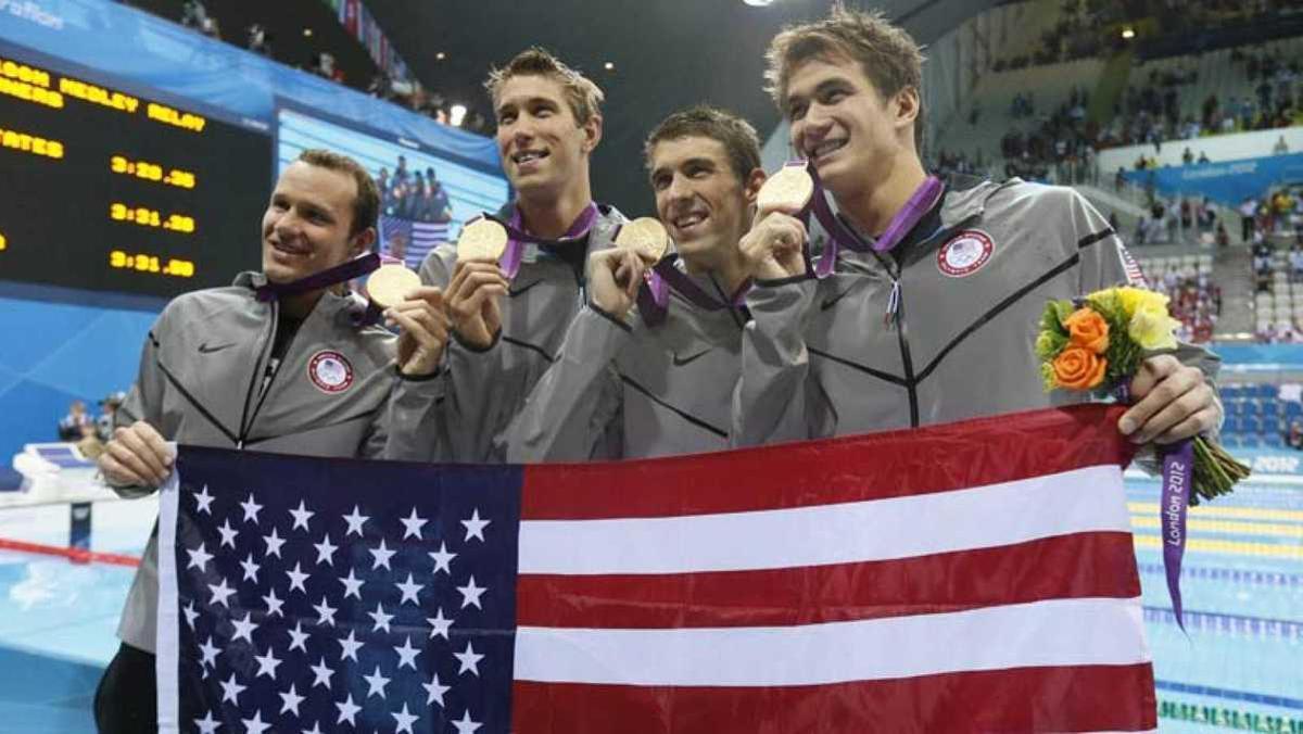 Hasta la fecha, Estados Unidos acumula un total de 1127 medallas de oro en los JJOO