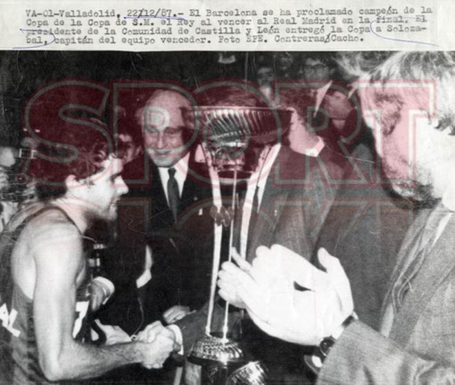 Temp 1987-1988 (Valladolid): Final FC Barcelona ¿ Real Madrid