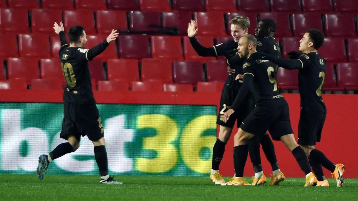 De Jong culminó la remontada con este gol