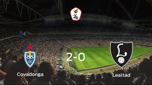 El Covadonga se lleva tres puntos después de derrotar 2-0 al Lealtad Villaviciosa
