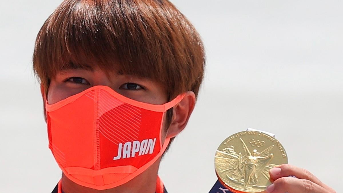 El japonés Horigome consigue el primer oro olímpico en skate