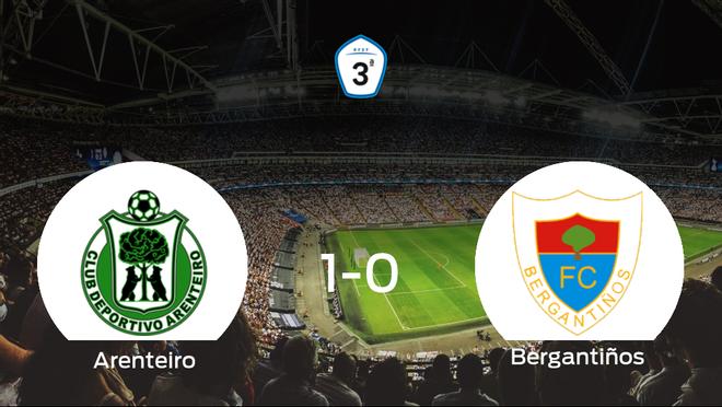 El Arenteiro gana 1-0 al Bergantiños y se lleva los tres puntos
