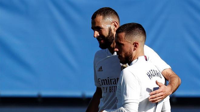 Si Zidane apuesta por resguardarse, Benzema y Hazard formarán el ataque