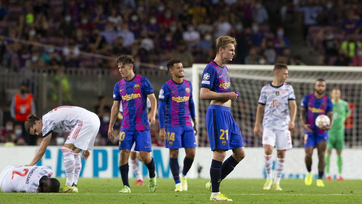 El Barça acumula ya tres derrotas consecutivas en el Camp Nou en Champions League