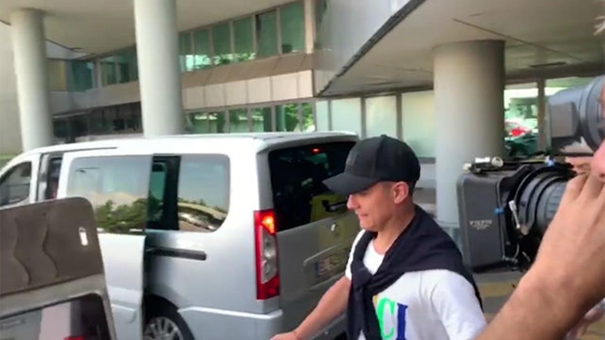 Dybala ya está en Turín