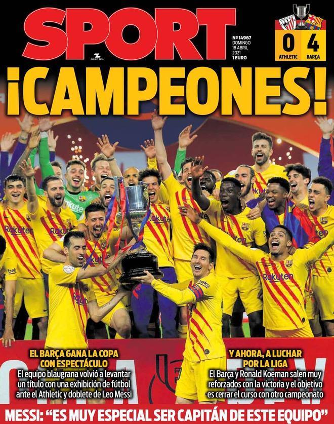 Revive los mejores momentos de la victoria del Barça en la final de Copa