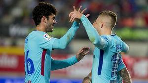 LACOPA | Murcia - FC Barcelona (0-3): Deulofeu marcó un buen gol ante el Murcia
