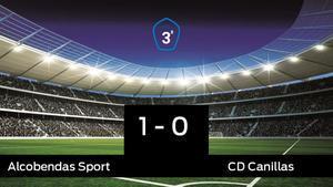 El Alcobendas Sport derrotó al Canillas por 1-0