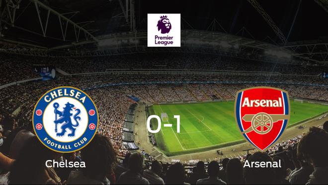El Arsenal se impone al Chelsea y consigue los tres puntos (0-1)