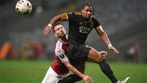 Adama Traoré marcó un golazo en Europa League