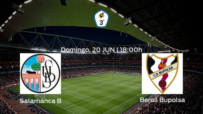 Jornada 12 de la Segunda Fase de Tercera División: previa del partido Salamanca CF B - Beroil Bupolsa