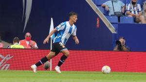 Lluís Recasens debutó contra el Atlético