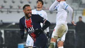Neymar, campeón de otro título con el PSG