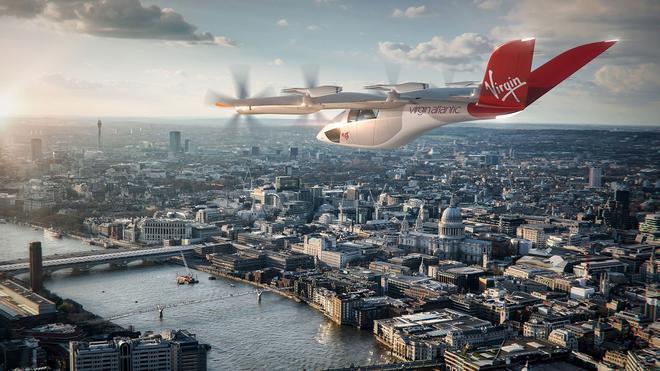 Virgin Atlantic explora el tener un servicio de 'taxi volador'